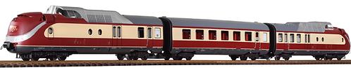 37321 DB IV TEE Turbine BR602,  3-Unit Train