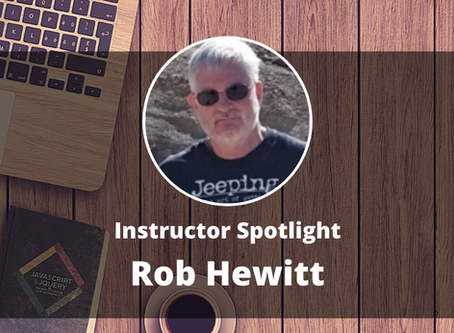 Instructor Spotlight: Rob Hewitt