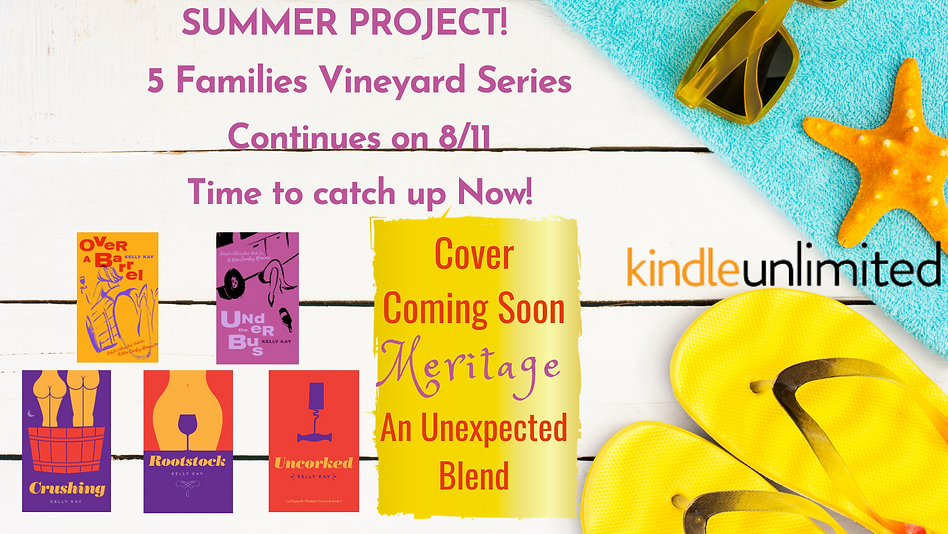 Need A Project For Summer 5 Families Vineyard Series Continues on 811 Time to catch up Now