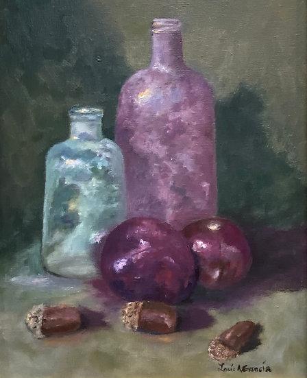 Still Life Bottles