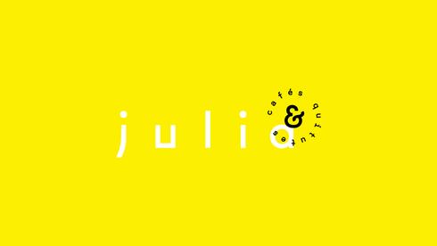 Identidade visual - Julia Café