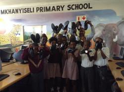 Mkhanyiseli Primary School Shoe Handover_2014