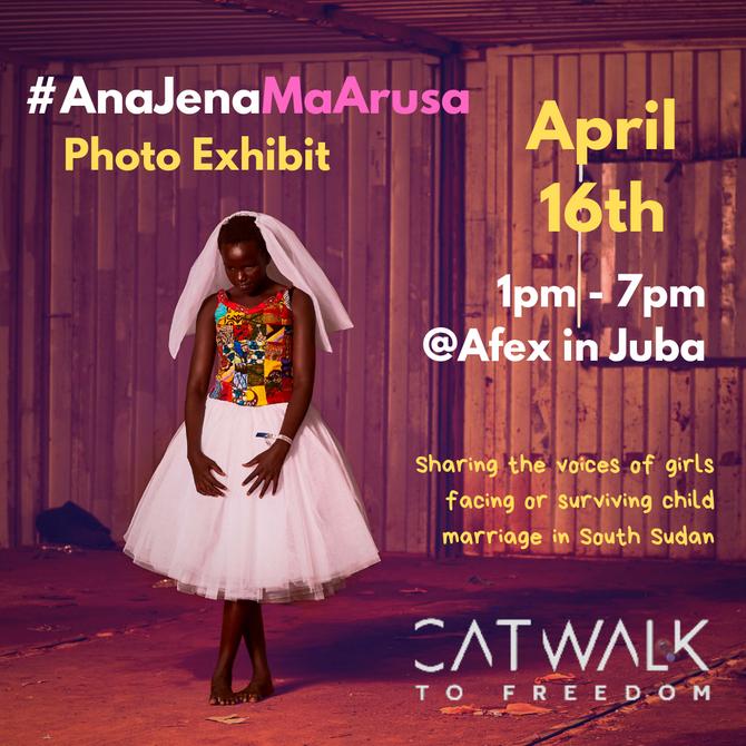 #AnaJenaMaArusa Photo Exhibit