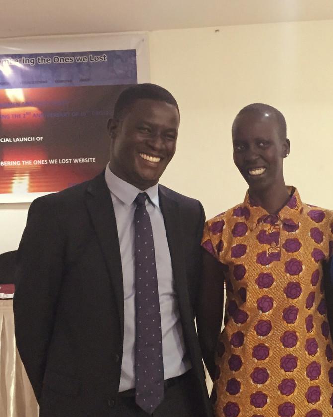 Nobel Peace Prize Nominee Victor Ochen in Juba