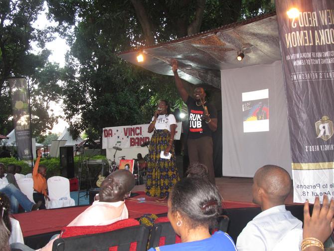 MC's wearing House of Bany and ABOKK @ Festival of Fashion & Arts for PEACE 2014 - Juba