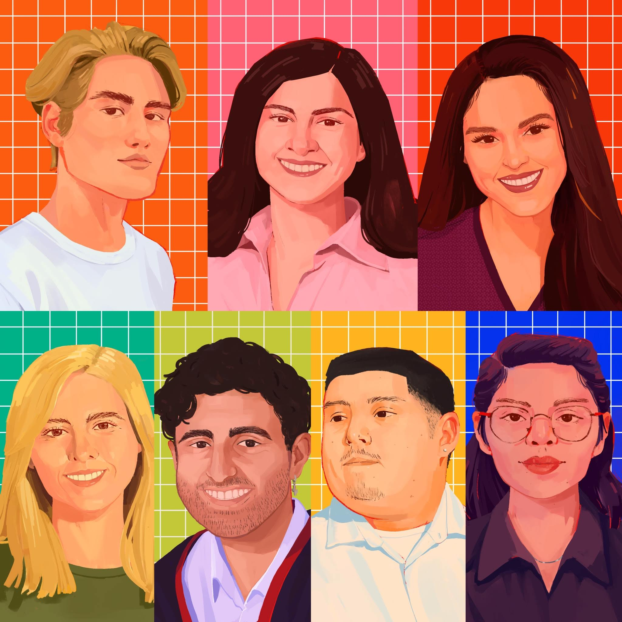 Next Generation Radio CSUN Portraits