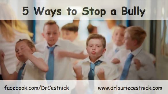 MIND MATTERS:  5 Ways to Stop a Bully