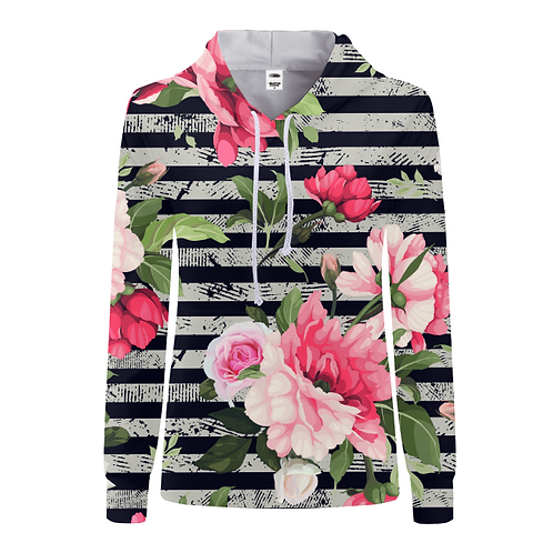 Floral Fashion Hoodie for Women