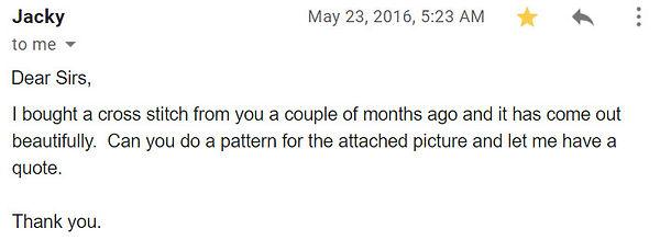 Jacky Cross Stitch Kit feedback.jpg
