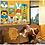 Thumbnail: Easy Cross Stitch Kit for Kids - Cartoon Animal Moo Moo Cow