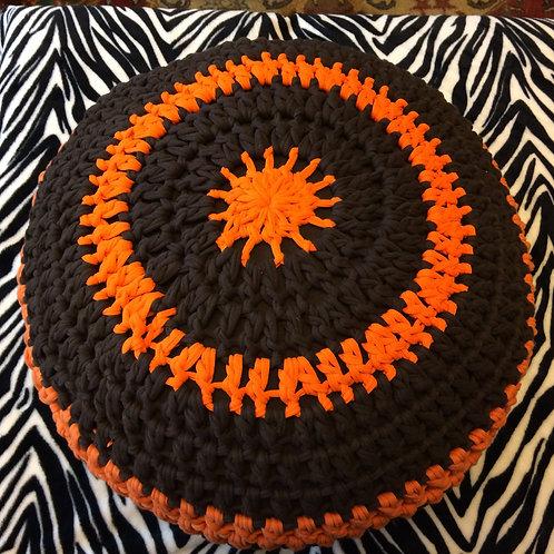 Cincinnati Bengal Crochet T Shirt Pouf
