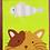 Thumbnail: Easy Cross Stitch Kit for Kids - Cartoon Animal Cute Cat