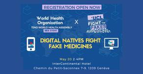 20/05/19 - Digital Natives Fight Fake Medicines