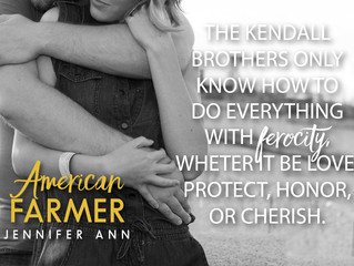 EXCLUSIVE PREVIEW: American Farmer (Book 6 in the Kendall Family series)