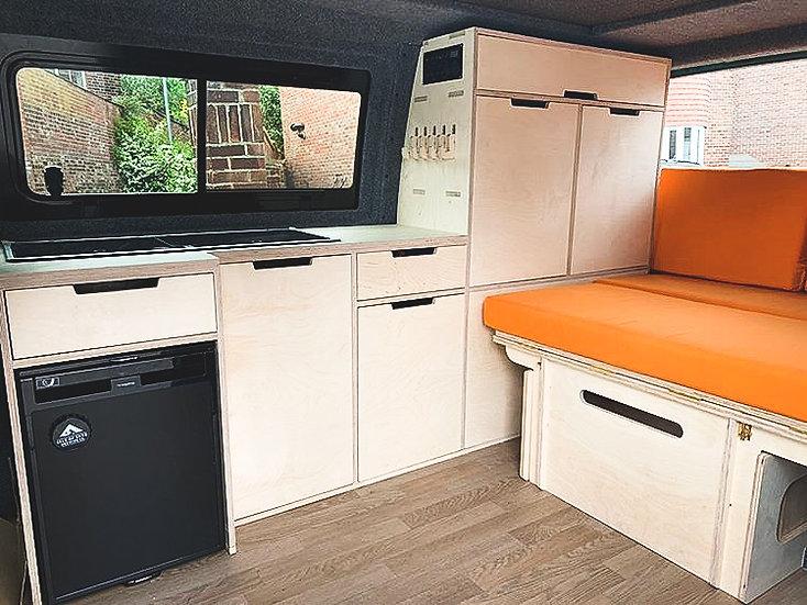 Full Length Campervan Kitchen Units