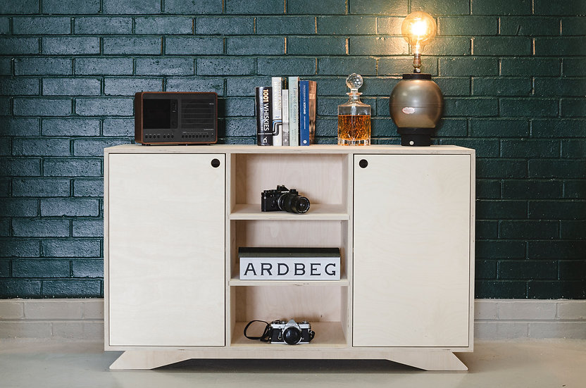 Adair Birch Plywood Sideboard