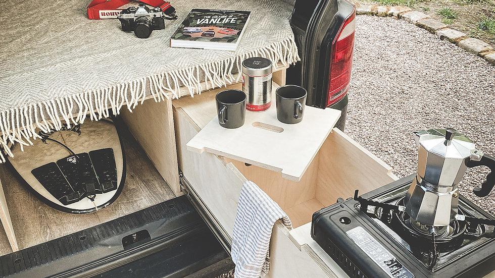 Torridon Unequal Split Extending Campervan Bed