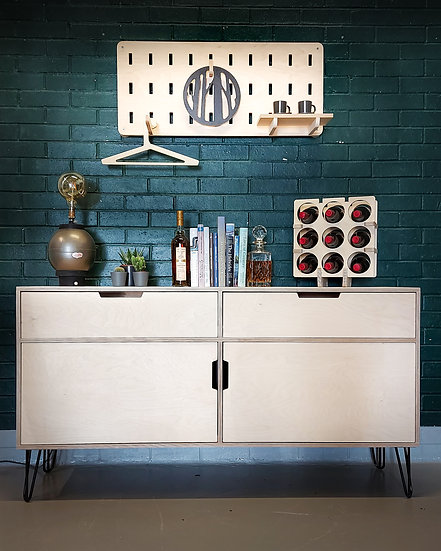 Athair Mor - Large Sideboard with Hairpin Legs