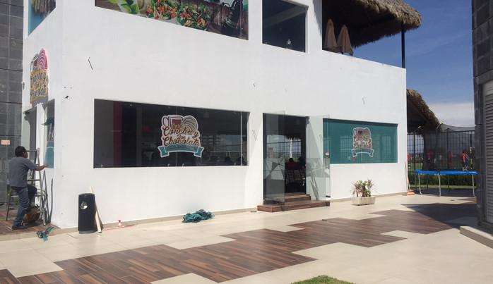Vinil sobre cristal para el comercio Puebla.JPG