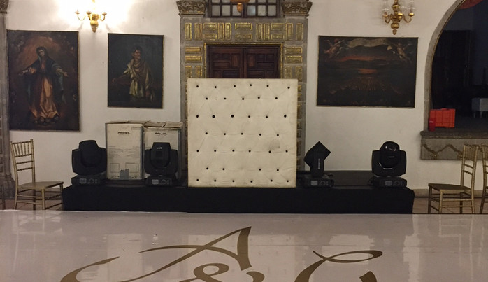 Vinil decorativos para eventos pistas de bodas Puebla.JPG