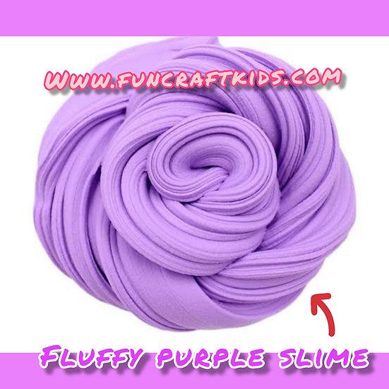 Fluffy purple slime