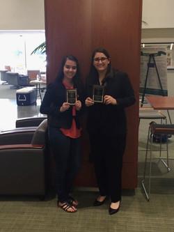 Emily Volk and Ashley Dyer-Quarterfinalists-UNT