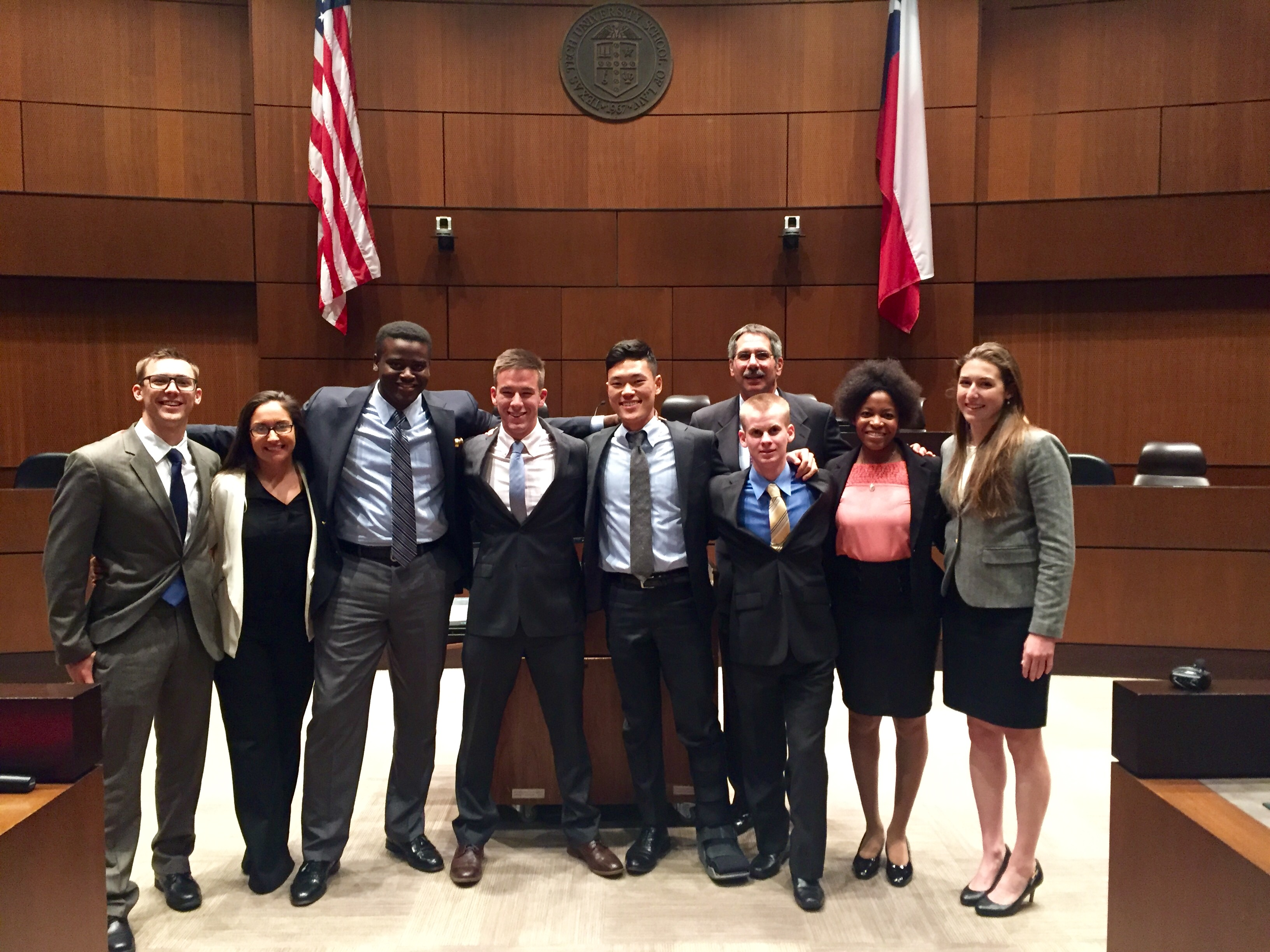 11 Team Photo- Courtroom