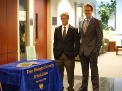 UIW Daniel Ryan and Patrick Cardenas at Wesleyan