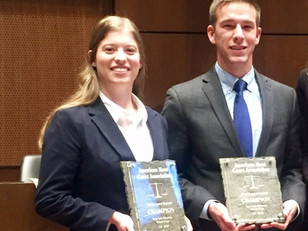 United States Air Force Academy wins Texas Tech School of Law Regional; Baylor takes Top Speaker