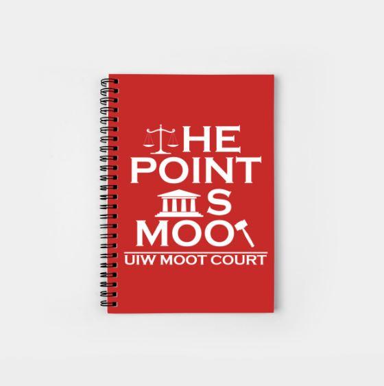 UIW Spiral Notebook