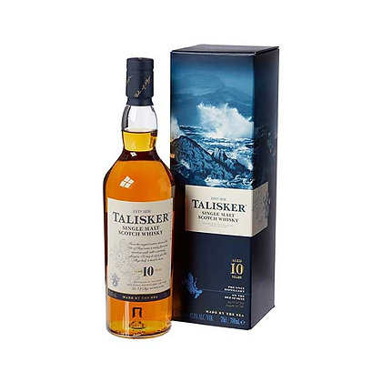 Talisker 10y Old Single Malt Scotch Whisky 70cl