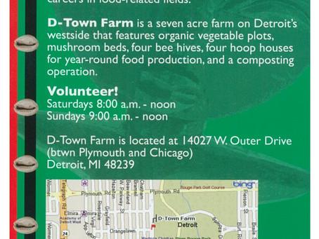 Volunteer at D-Town Farm