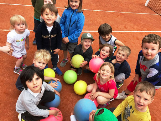 tennissimo Minis auf der TC Bregenz-Website: