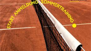 Anmeldung Sommertraining 2021: Jetzt Termine sichern!