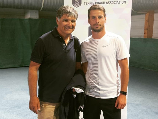 Neuer Trainer für tennissimo!