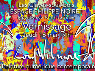 Lord Wilmore expose dans les Yvelines.
