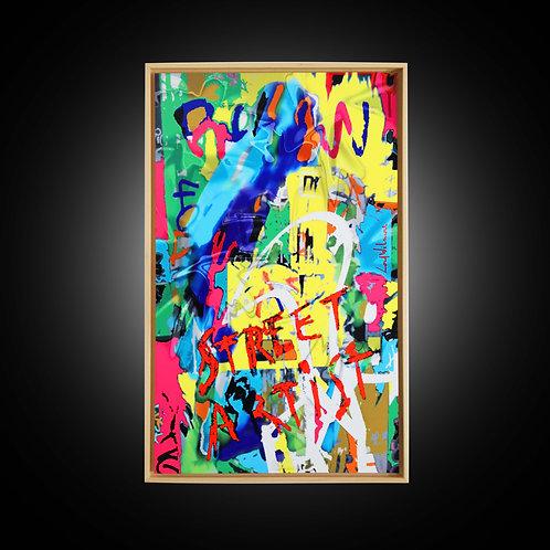 STREET ARTIST (56 CM x 92 CM)