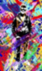Lord Wilmore - peinture numérique imprimée sur Chromaluxe