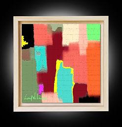 Peinture numérique imprimée sur Chromaluxe - De Staëlization - Lord Wilmore