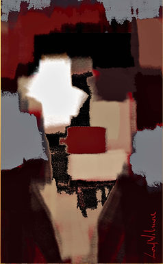 Peinture numérique imprimée sur Chromaluxe - De Staëlizations - Lord Wilmore