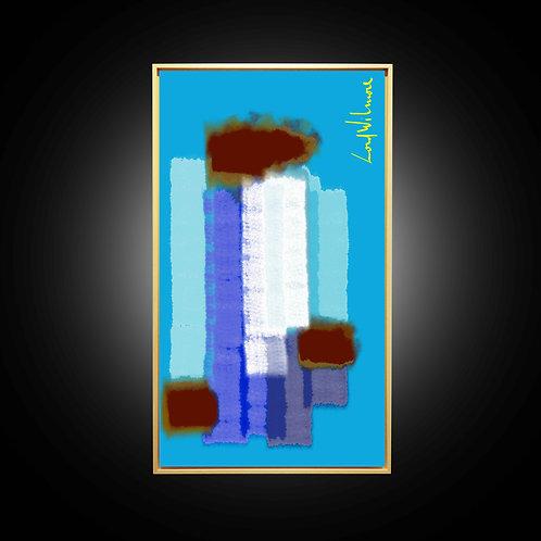 VIERGE NOIRE (65 CM x 115 CM)