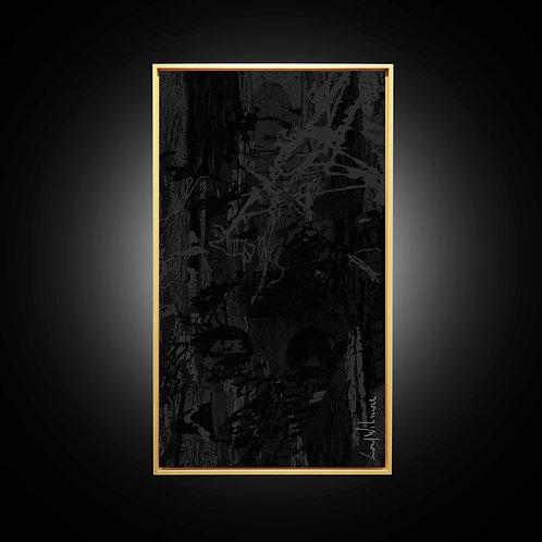 RONIN BLACK (65 CM x 115 CM)