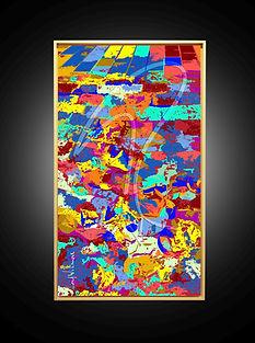 Peinture numérique imprimée sur Chromaluxe - Amazing Duck - Lord Wilmore