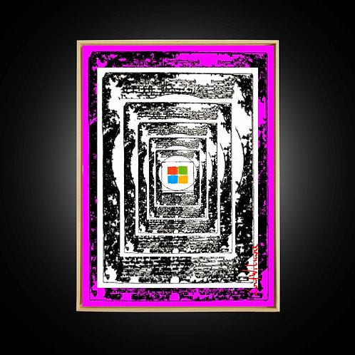 MICRO MAN (50 x 70 CM)