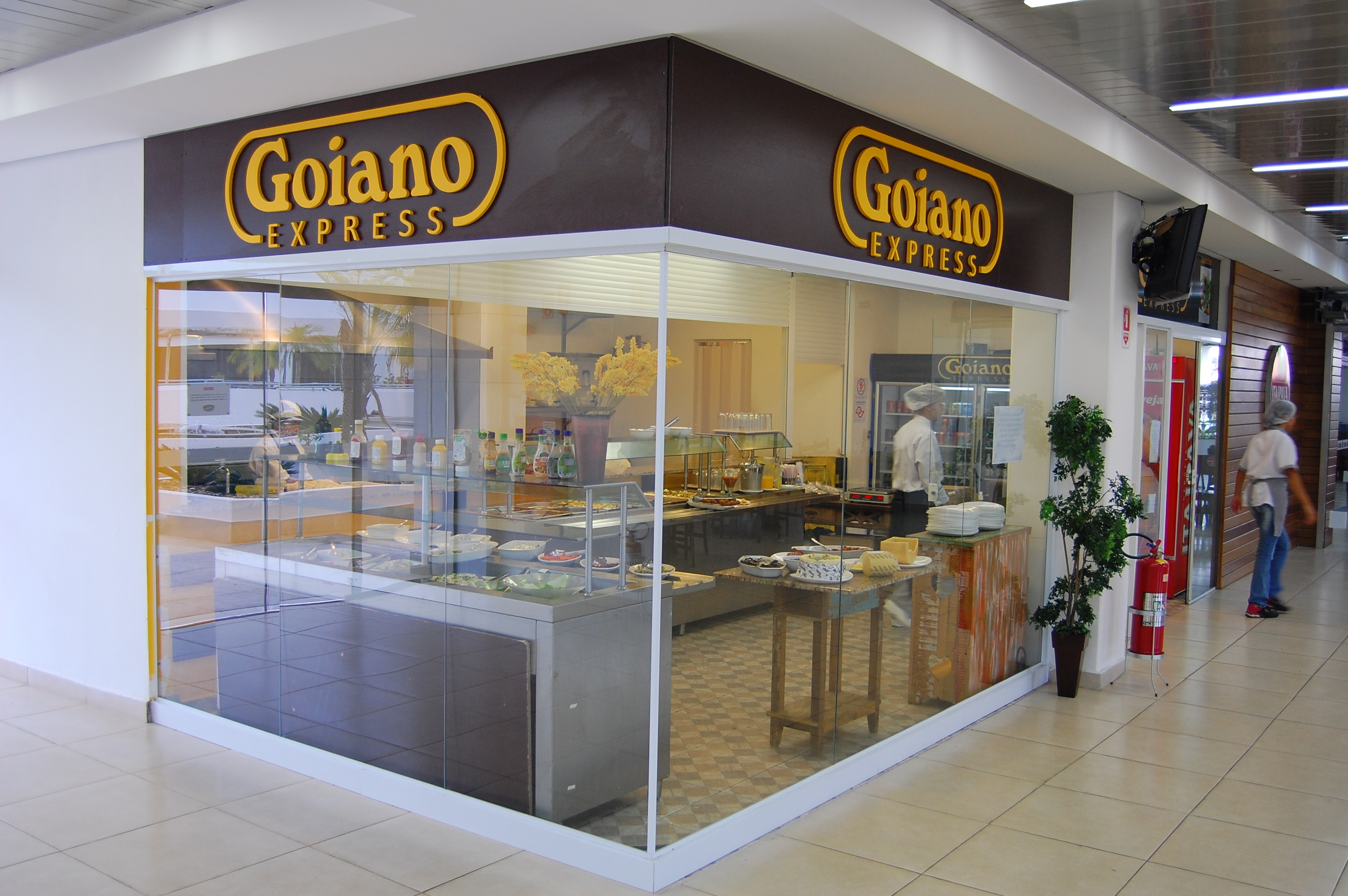 Fachada loja em shopping