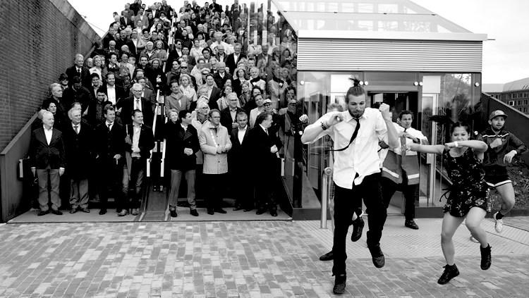Opening Paleisbrug (foto door Henk van Esch) onbewerkt