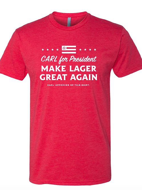 RED CARL Campaign Shirt