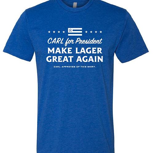 BLUE CARL Campaign Shirt