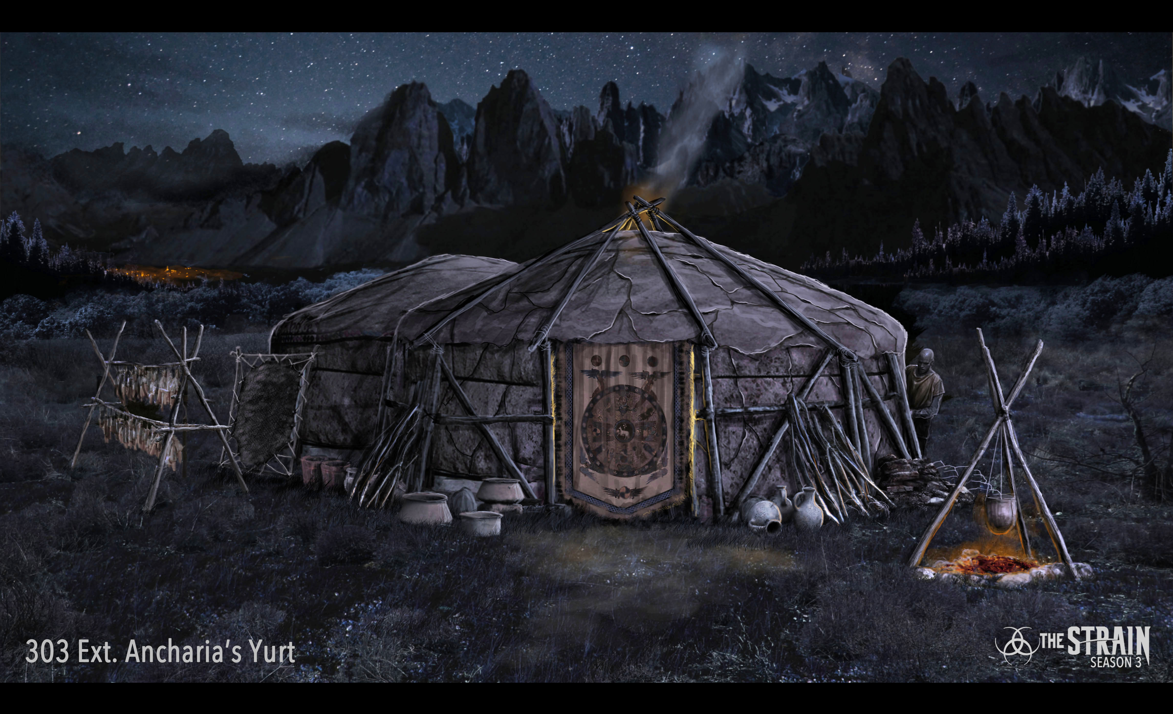 Ext. Ancharia's Yurt