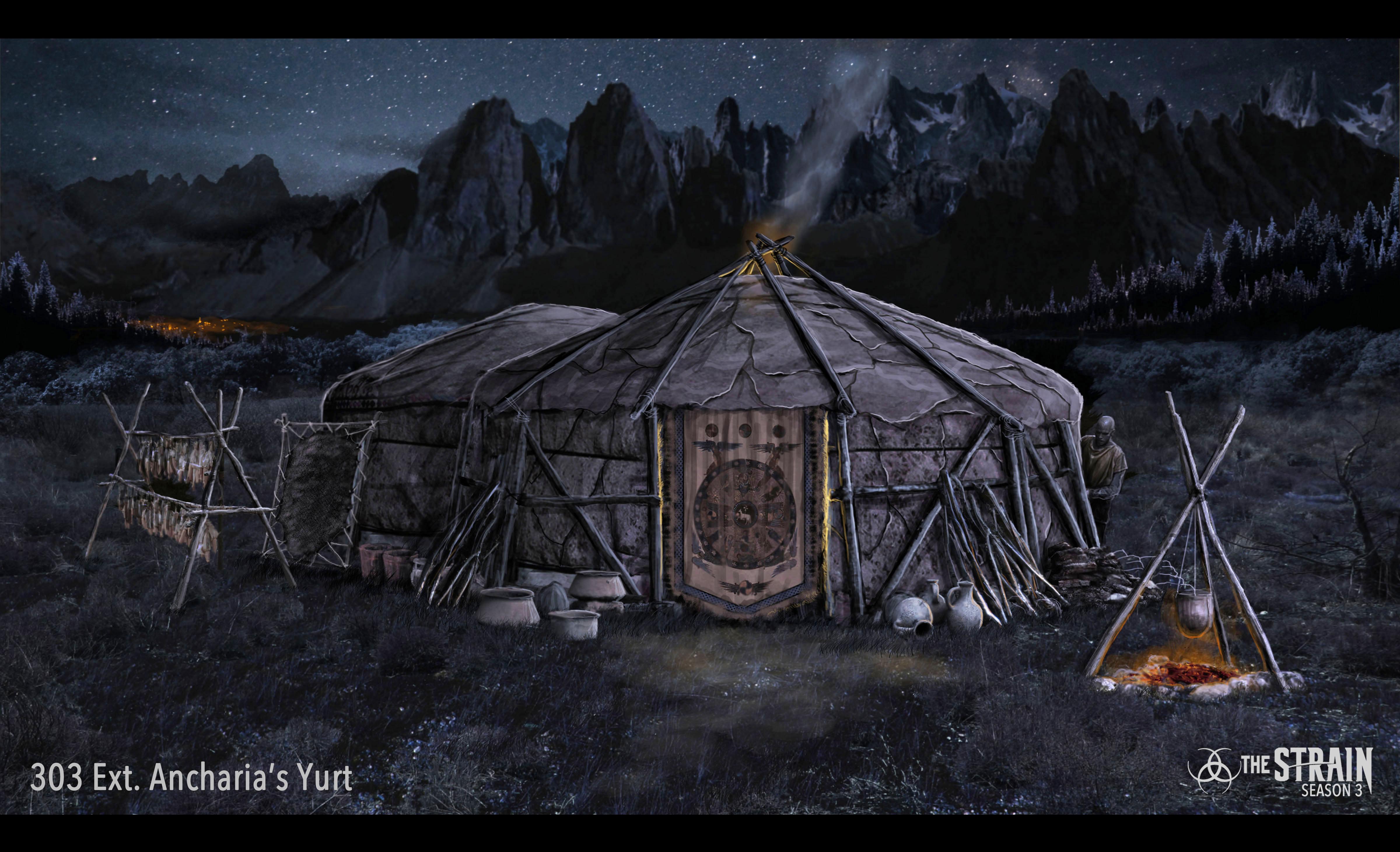 Ext. Ancharia's Yurt